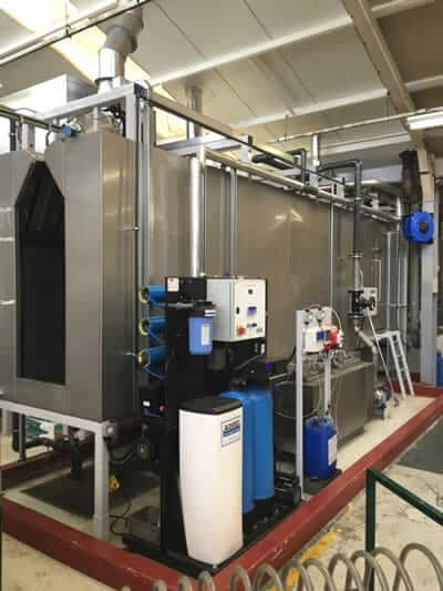 pretreatment and powder plant machinery