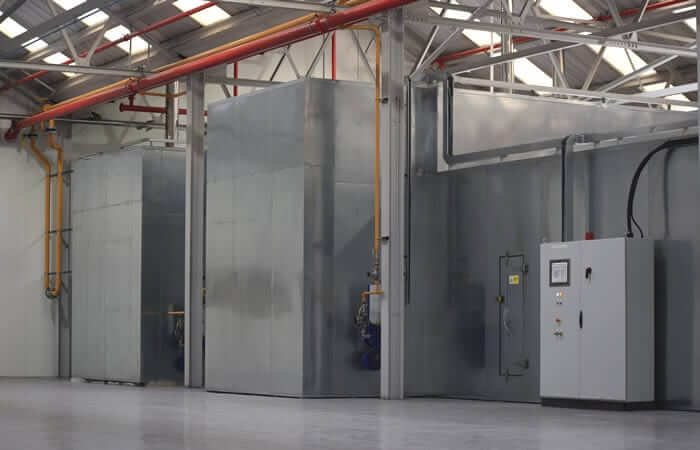 Process Ovens at td finishing as well as powder coating and paint line